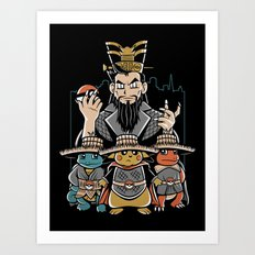 Big Trouble in Little Kanto  Art Print