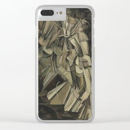 Marcel Duchamp - Nude Descending a Staircase, No. 2 Clear iPhone Case