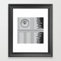Death Star - Starwars Framed Art Print