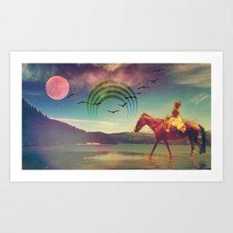 Miracles Art Print