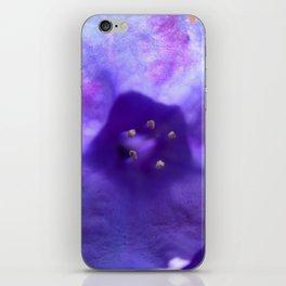 Purple Flower In Spring iPhone Skin