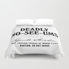 Deadly No-See-Ums Duvet Cover