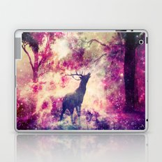 Alone in the Magic forest Laptop & iPad Skin