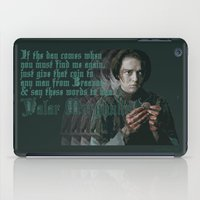 arya iPad Cases featuring Arya Stark, Valar Morghulis by Your Friend Elle