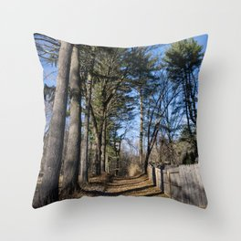 High Trees Throw Pillow