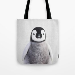 Baby Penguin - Colorful Tote Bag