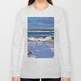 Frozen Selfie by the Sea Long Sleeve T-shirt