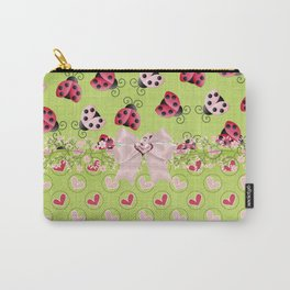 My Classic Ladybugs Carry-All Pouch