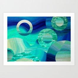 SEA-NCHRONICITY Art Print