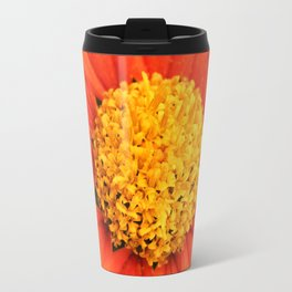 Mexican Sunflower Close Perspective Travel Mug