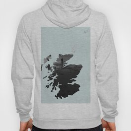 'Wandering' Scotland map Hoody