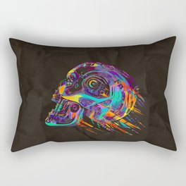 T-800 Skull Rectangular Pillow
