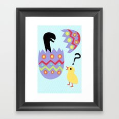 egg buster Framed Art Print