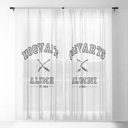 Hogwarts Alumni Sheer Curtain
