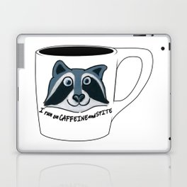 Caffeine and Spite Laptop & iPad Skin