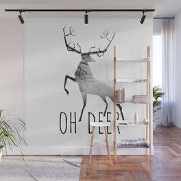 oh deer /Agat/ Wall Mural