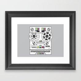 1 kHz #6 Framed Art Print