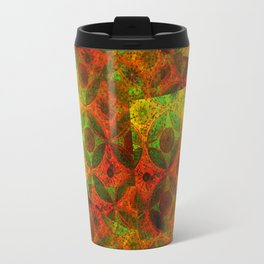Moorish Pattern Collage Travel Mug