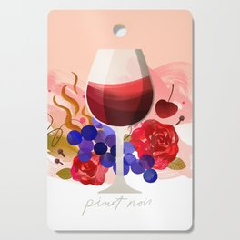 Wine Notes – Pinot Noir Cutting Board