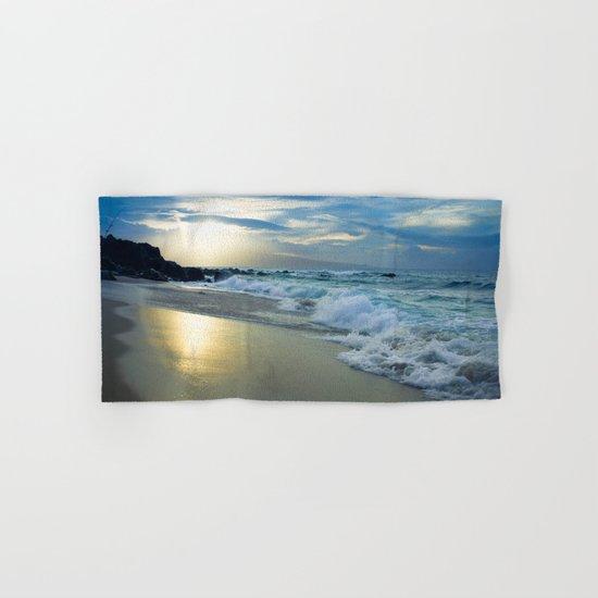 One Dream Sunset Hookipa Beach Maui Hawaii Hand & Bath Towel