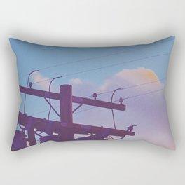 Electric Sky Rectangular Pillow