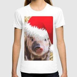 Cute little Christmas Piglet T-shirt