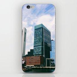 Breather in Boston iPhone Skin