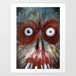 the fear Art Print