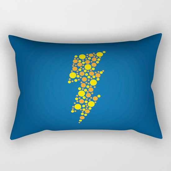 Lightning Rectangular Pillow