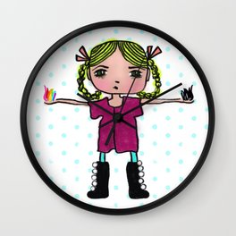 Creative Spark Wall Clock