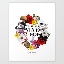 Alice In Wonderland: MAD Art Print