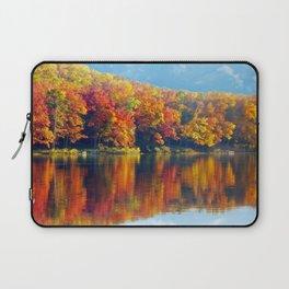 Autumn Colors at Lake Killarney Laptop Sleeve