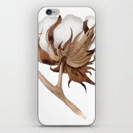 Cotton Flower 03 iPhone Skin