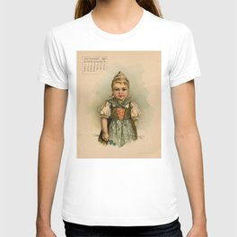 German Girl Maud Humphrey 1891 T-shirt