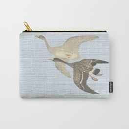 Nothing to match the flight of wild birds flying Carry-All Pouch