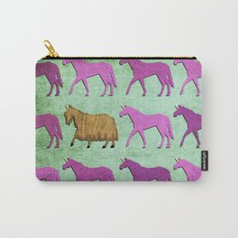 Pretty Hairy Unicorn Carry-All Pouch