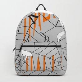 Ghost Halloween Spider Backpack