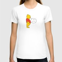 winnie the pooh T-shirts featuring WINNIE THE POOH by DrakenStuff+