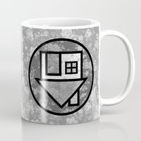 the neighbourhood Mugs featuring THE NEIGHBOURHOOD by Meuphrosyne