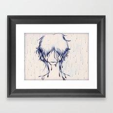 Downpour Truth Framed Art Print