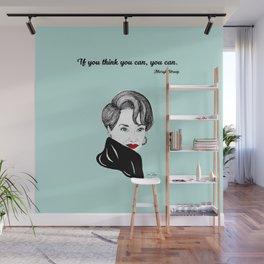 Meryl Streep Wall Mural