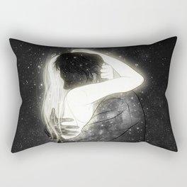 The light to my heart. Rectangular Pillow