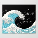The Great Wave (night version) by xooxoo