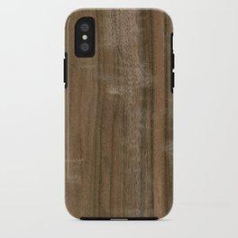 Australian Walnut Wood iPhone Case