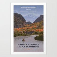Parc National de le Mauricie Art Print