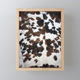 Cowhide Framed Mini Art Print