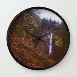 Latourell Falls - OR #1 Wall Clock
