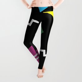 Memphis pattern 62 - 80s / 90s Retro Leggings