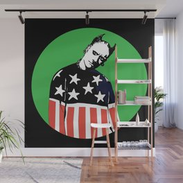 Keith Prodigy Black and Green *All proceeds donated to charity* Wall Mural