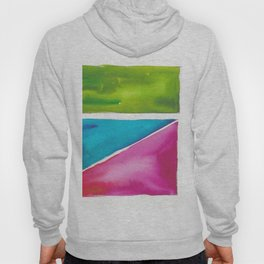 180811 Watercolor Block Swatches 5| Colorful Abstract |Geometrical Art Hoody